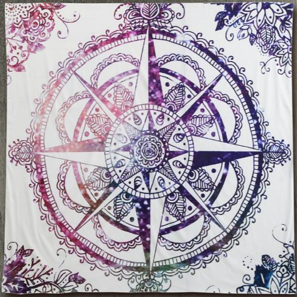 Mandala Printed Colorful Tapestries 3