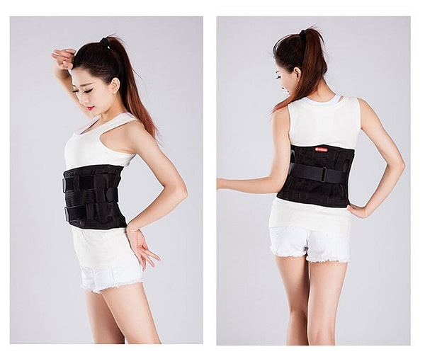 Elastic Durable Lower Back Support Brace Belt