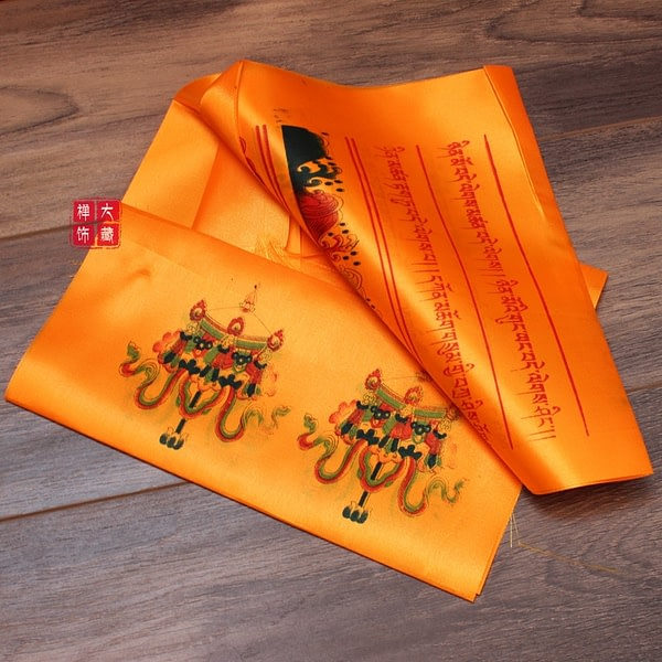 Tibetan Buddhism Hada Prayer Flag