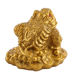 Feng Shui Fortune and Wealth Chinese Frog 4