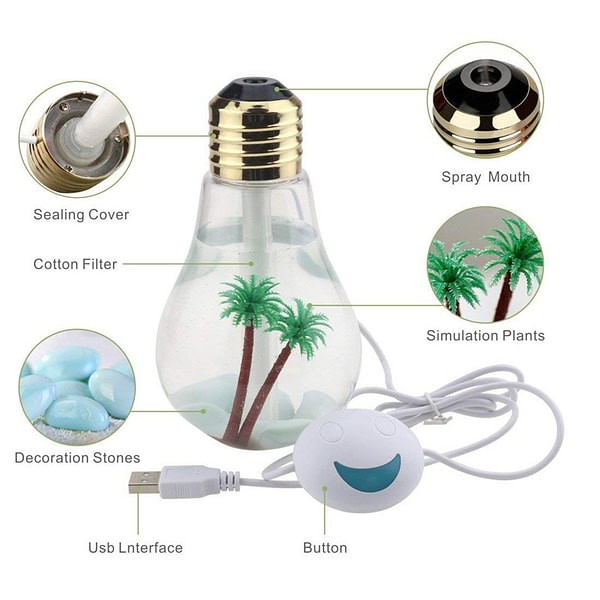 400 ml LED Lamp Home Essential Oil Diffuser and Humidifier 7