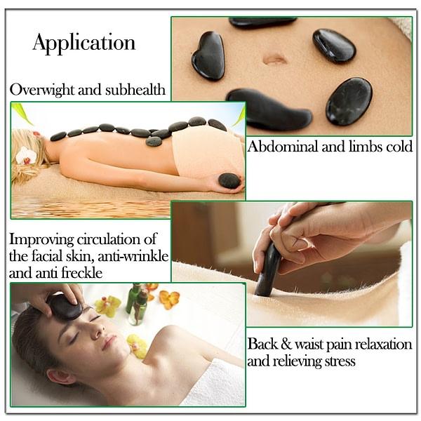 Professional Hot Stone Massage Set 20Pcs