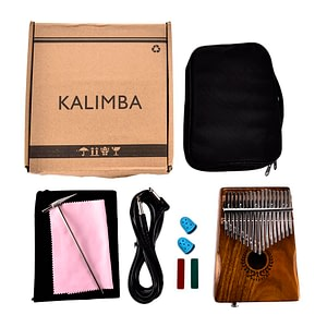 Kalimba Thumb Piano Full Set with Speaker Cable