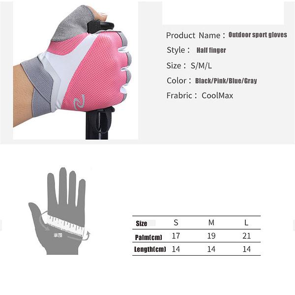 Women's Fitness Yoga Breathable Anti-slip Gloves 5