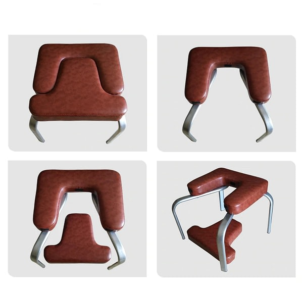 Brown Yoga-Assisted Inverted Handstand Stool