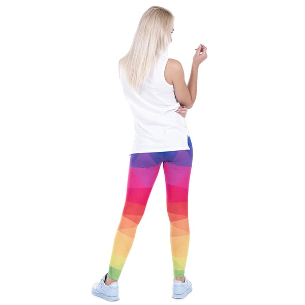 Women's Geometric Printed Fitness Leggings 5