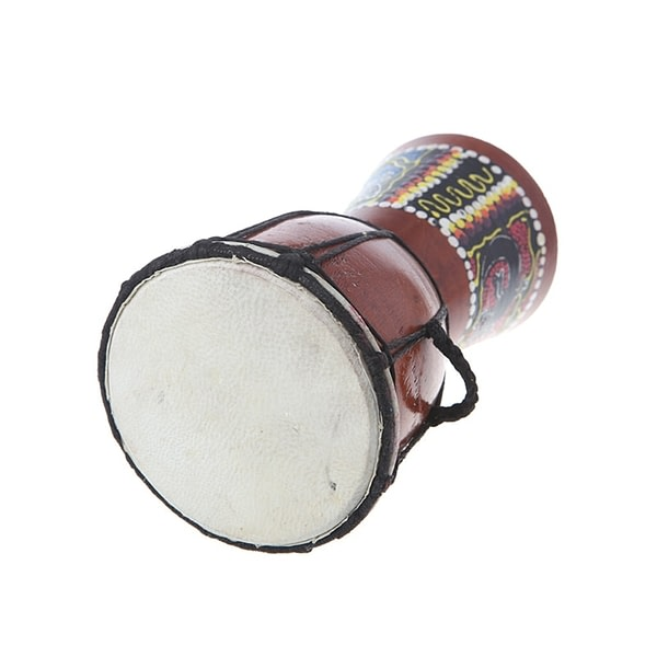 Small African Djembe Drum 4""