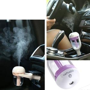 Car Charging Ultrasonic Mini Air Humidifier 5