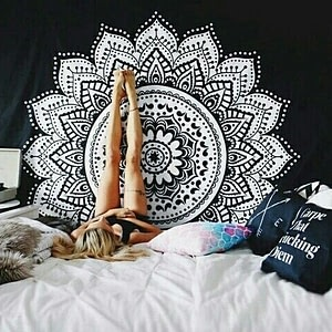 Indian Style Tapestries With Mandala Prints