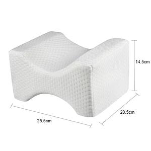 Memory Foam Wedge Sleeping Leg Knee Pillow