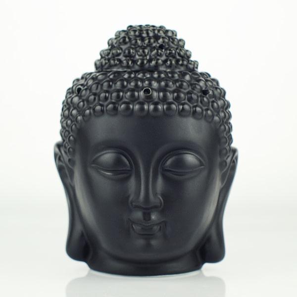 Buddha Head Ceramic Aromatherapy Oil Burner 2