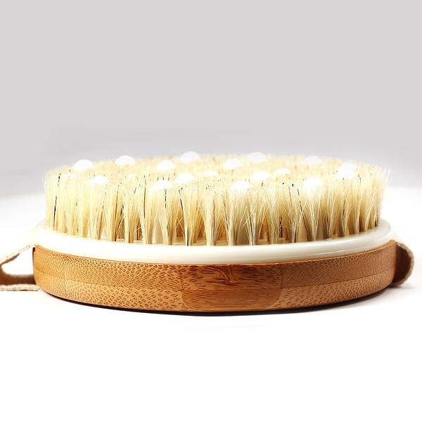 Natural Boar Bristles Slimming Massage Brush