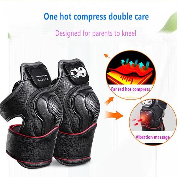 Knee Magnetic Vibration Heating Massage Device