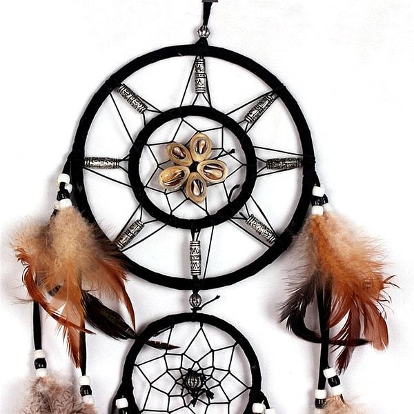 Indian Handmade Feather Dreamcatchers