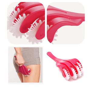 4 Fingers Buttock Hips Body Massage Roller