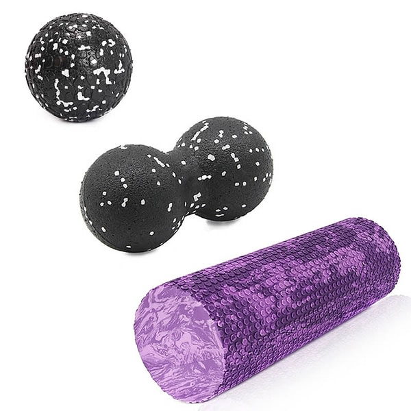 Foam Roller & Balls Set
