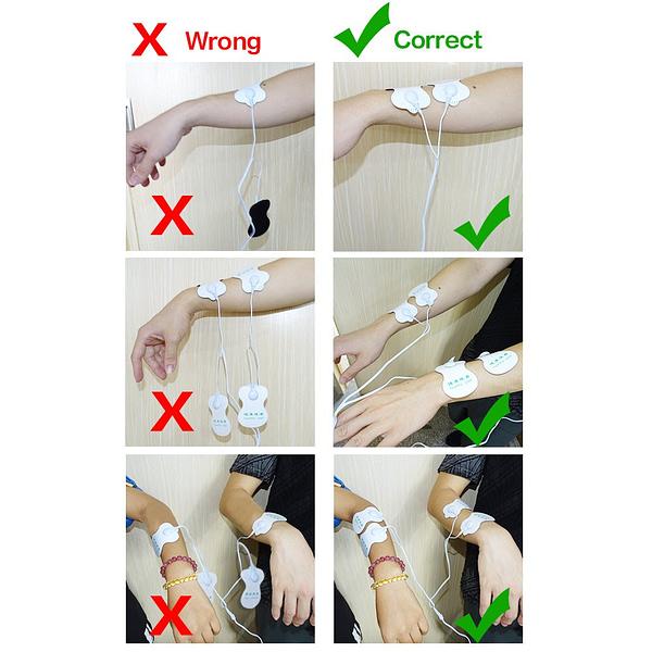 Electric Muscle Massage Stimulator Set