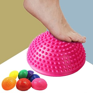 Inflatable Yoga Pilates Acupressure Balance Point Ball